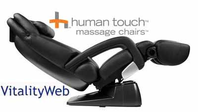 HT 7450 Zero Anti Gravity Human Touch Robotic Home Massage Chair Recliner  With HEAT
